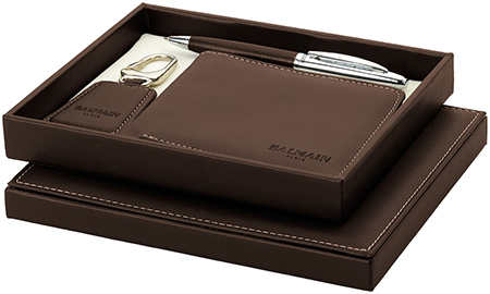 Leather business gift