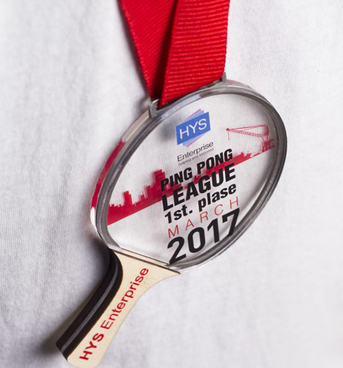 New style medal 2801