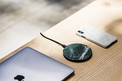 Fashion metal wireless charger